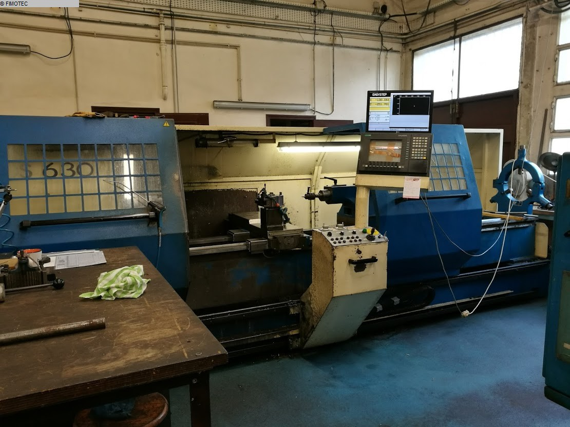 used Lathe -  cycle-controlled VOJUS Turntec 63
