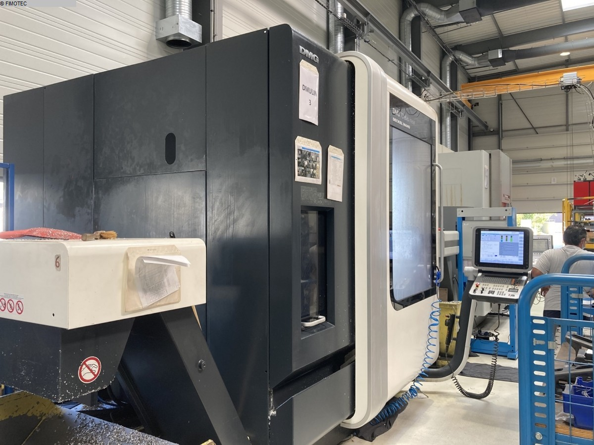 used Boring mills / Machining Centers / Drilling machines Machining Center - Universal DMG DMU70 EVOLUTION linear5 achsen