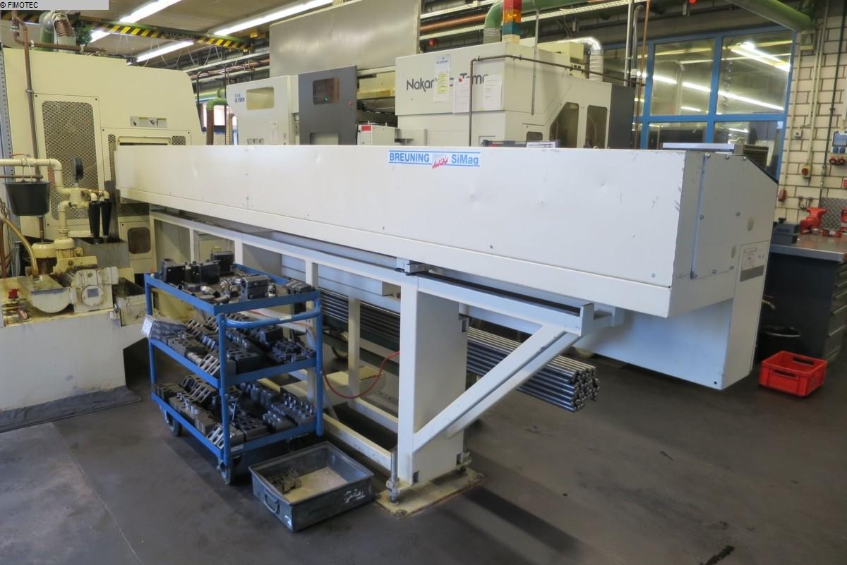 used Special Machines Round bar loader BREUNING IRCO SiMag 50