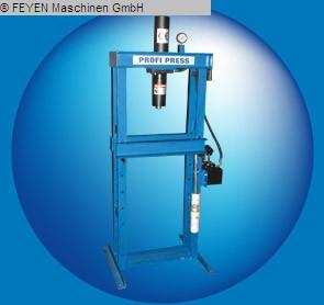 gebrauchte Pressen und Bördelmaschinen Werkstattpresse - hydraulisch PROFIPRESS 15H