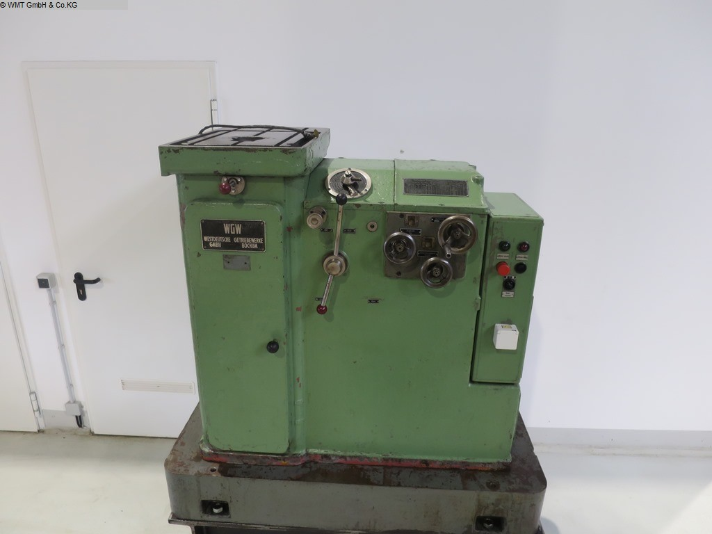 used machine Keyway Broaching Machine WGW NZH 70 / 650