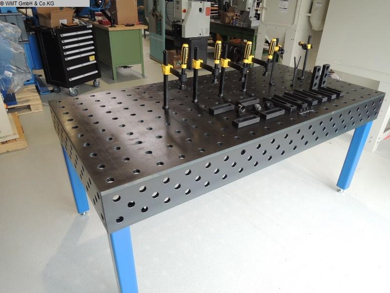 gebrauchte Maschine Schweißtisch WMT 2000 x 1000 nitri