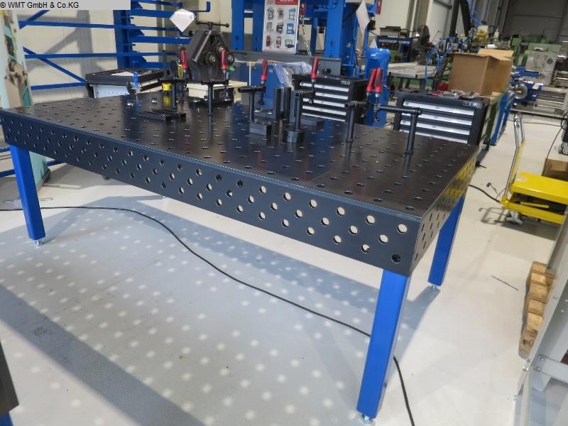 gebrauchte Maschine Schweißtisch WMT 2900 x 1400 nitri