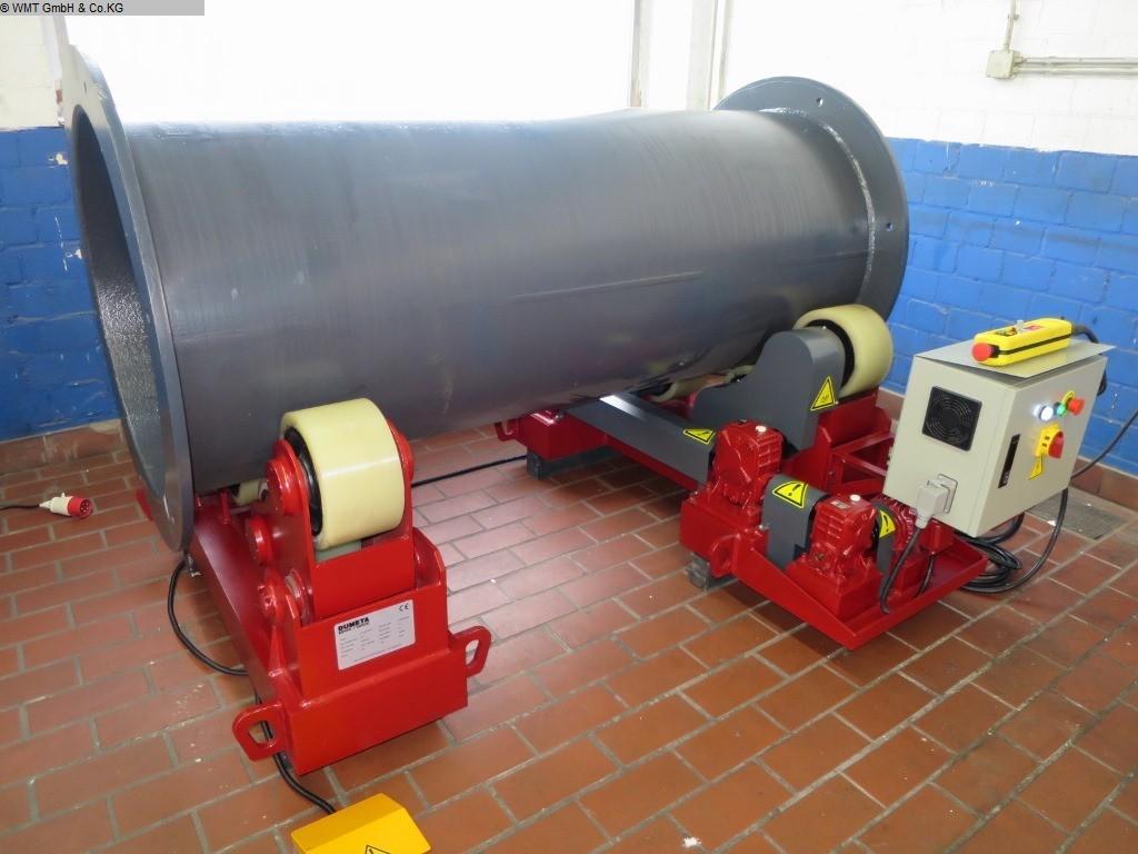 gebrauchte Maschine Behälterdrehvorrichtung DUMETA D-TLRS-10