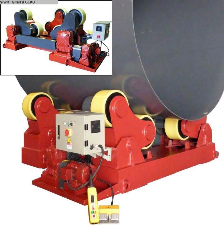 gebrauchte Maschine Behälterdrehvorrichtung DUMETA D-TLRS-80