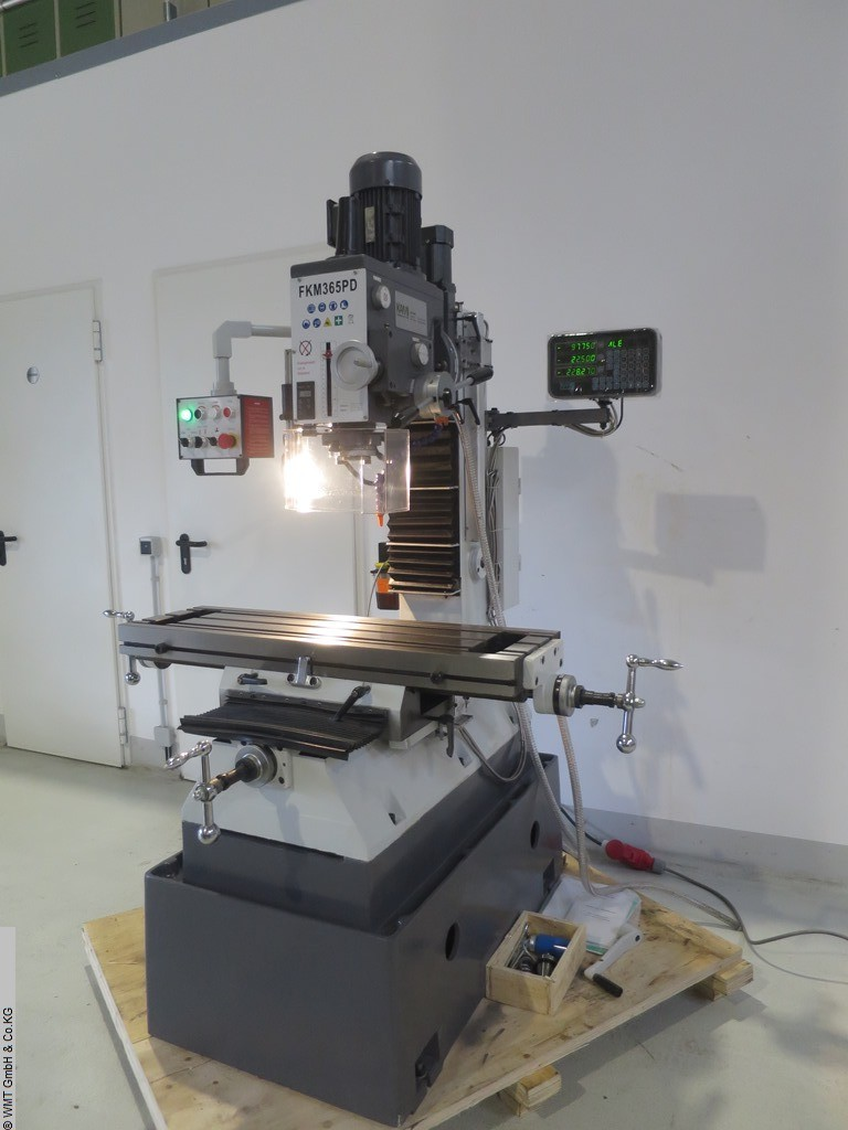 used Drilling and Milling M/C KAMI FKM 365 PD / SK40