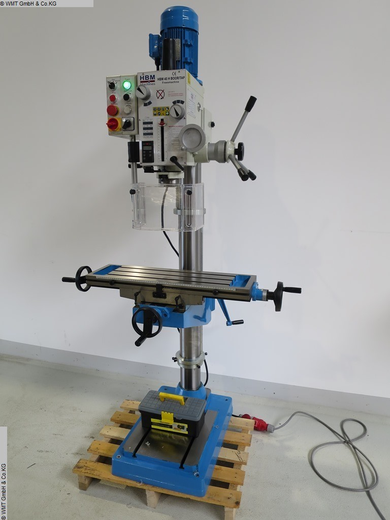 used Drilling and Milling M/C HBM H 40