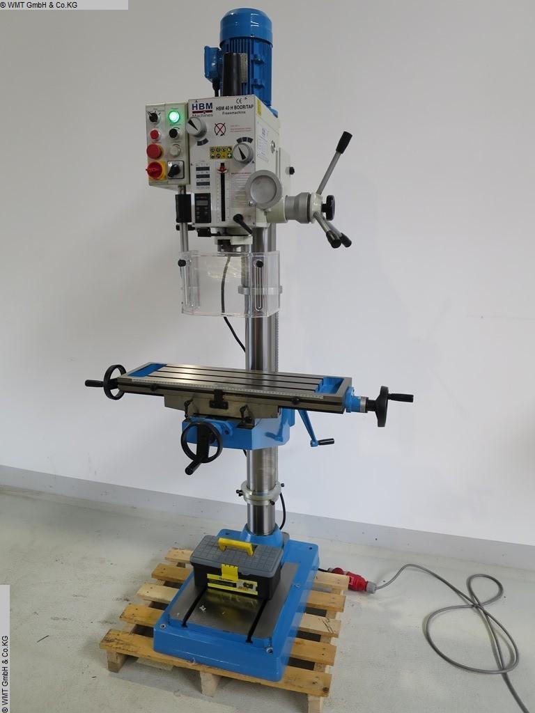 gebrauchte Bohr- und Fräsmaschine HBM H 40