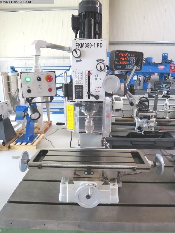 gebrauchte Bohrwerke / Bearbeitungszentren / Bohrmaschinen Bohr- und Fräsmaschine KAMI FKM 350-1 PD / SK40