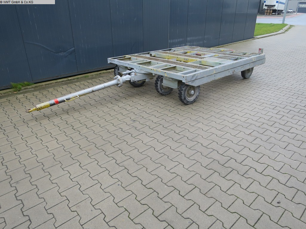 used Conveying and storage technology Heavy-duty trailers MÜLLER KPA