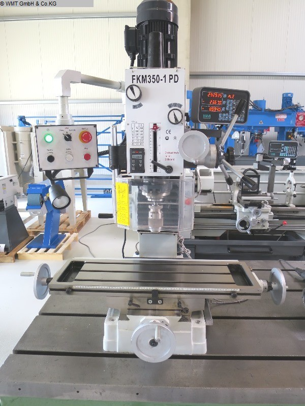 used Boring mills / Machining Centers / Drilling machines Drilling and Milling M/C KAMI FKM 350-1 PD / SK40