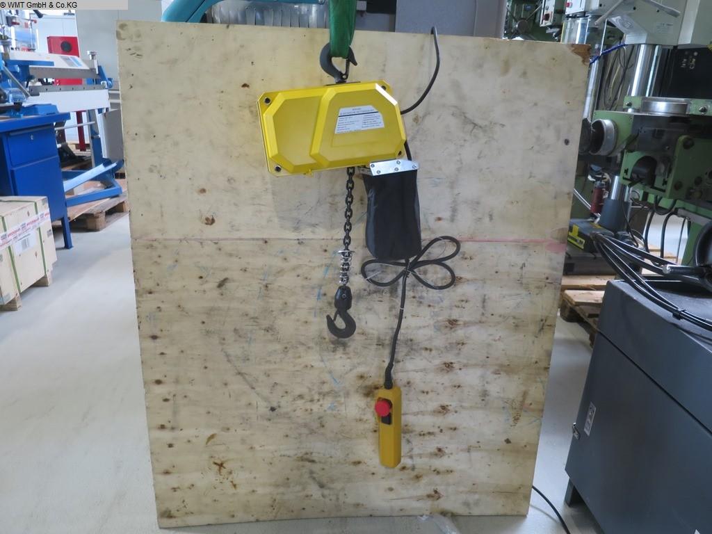 gebrauchte Förder- und Lagertechnik Krananlagen HBM Kettenzug BDH 300