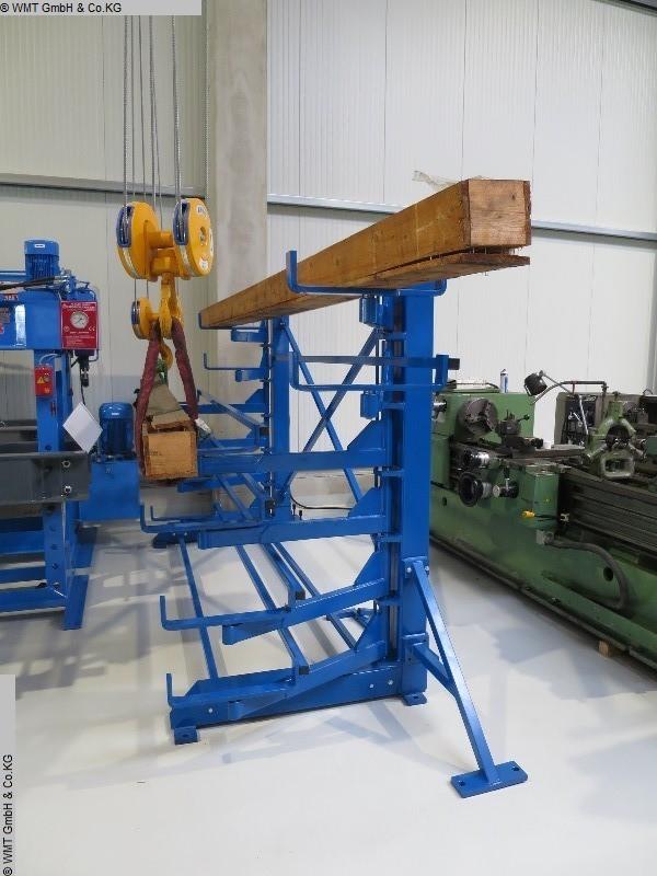 gebrauchte Förder- und Lagertechnik Langgutregale GUSTOS D-5-S-2-2000