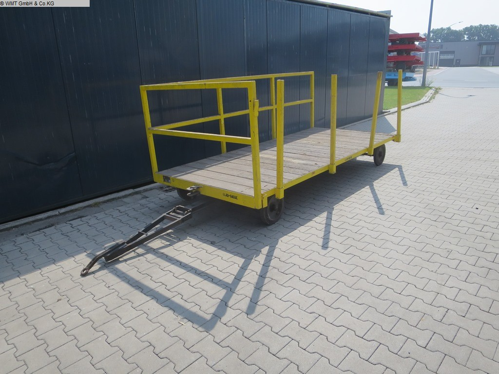 used Conveying and storage technology Heavy-duty trailers PLAN 2000
