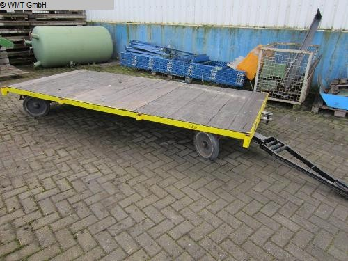 used Conveying and storage technology Heavy-duty trailers PLAN 60