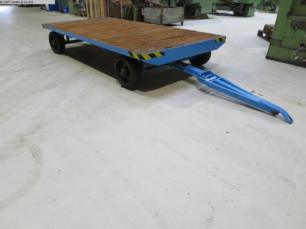 used Conveying and storage technology Heavy-duty trailers WMT 3000/1500