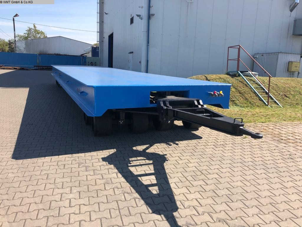 used Conveying and storage technology Heavy-duty trailers WMT D80/12,0 x 3,0