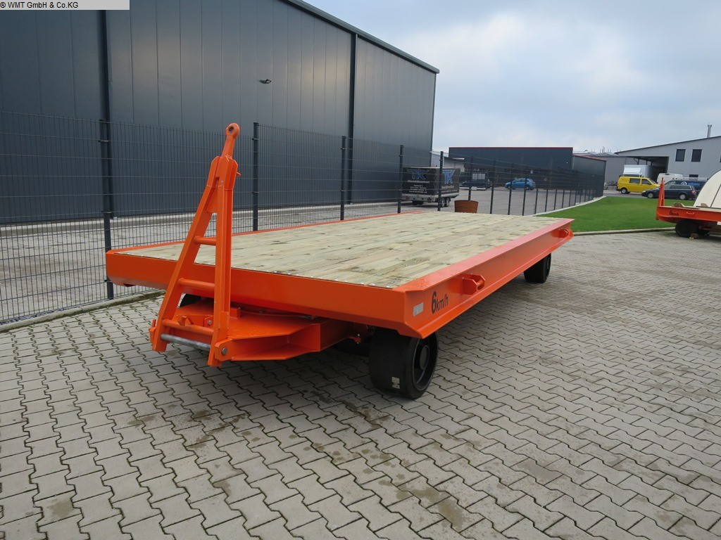 used Conveying and storage technology Heavy-duty trailers WMT D10/6,0 x 2,5