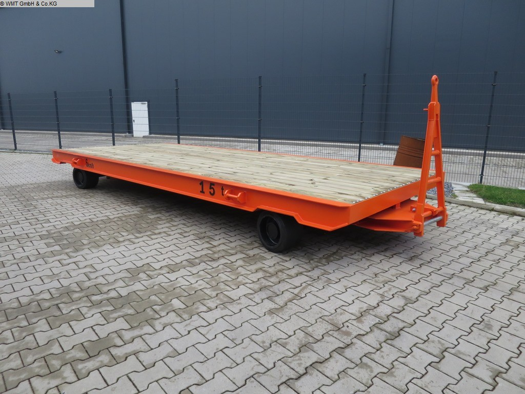 used Conveying and storage technology Heavy-duty trailers WMT D15/6,0 x 2,5
