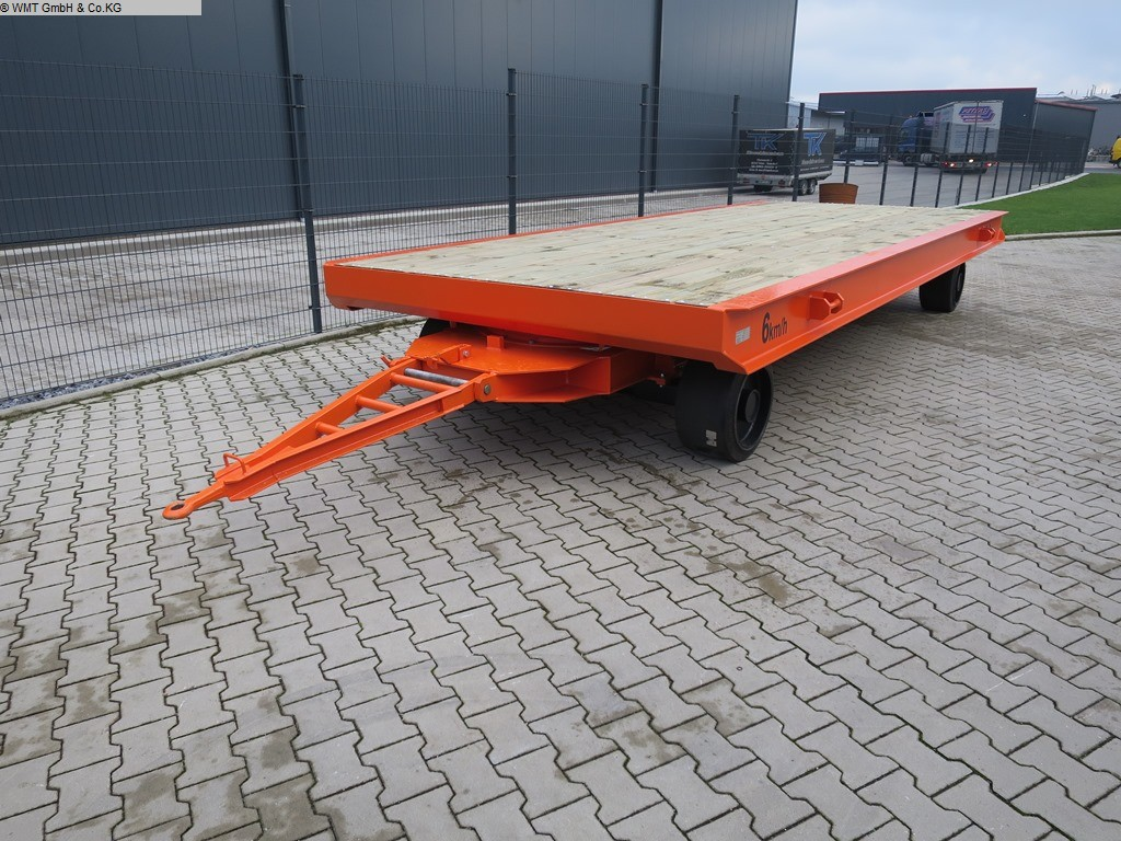used Conveying and storage technology Heavy-duty trailers WMT D20/6,0 x 2,5