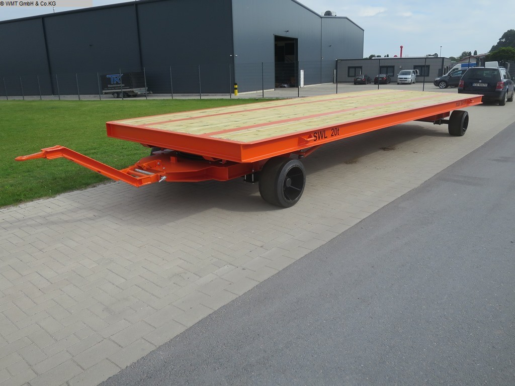 used Conveying and storage technology Heavy-duty trailers WMT D20/8,0 x 2,5