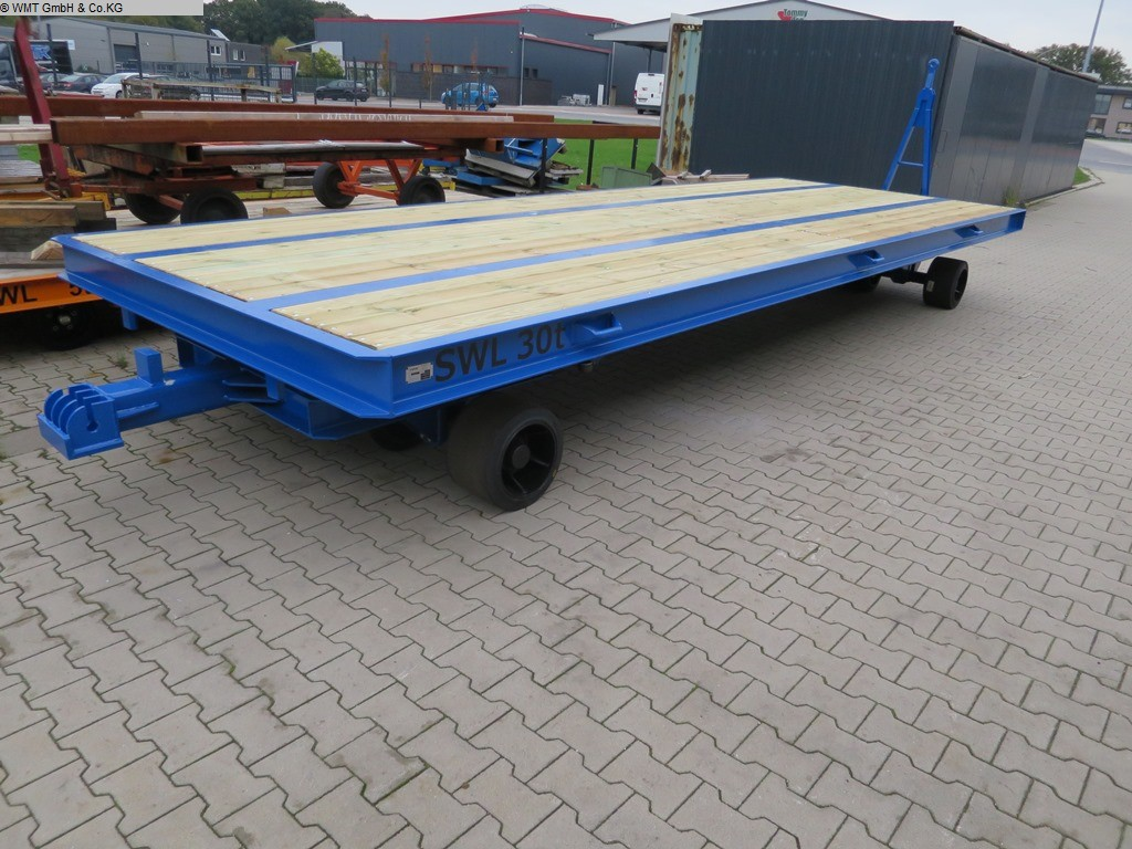 used Conveying and storage technology Heavy-duty trailers WMT D30/7,0 x 2,5