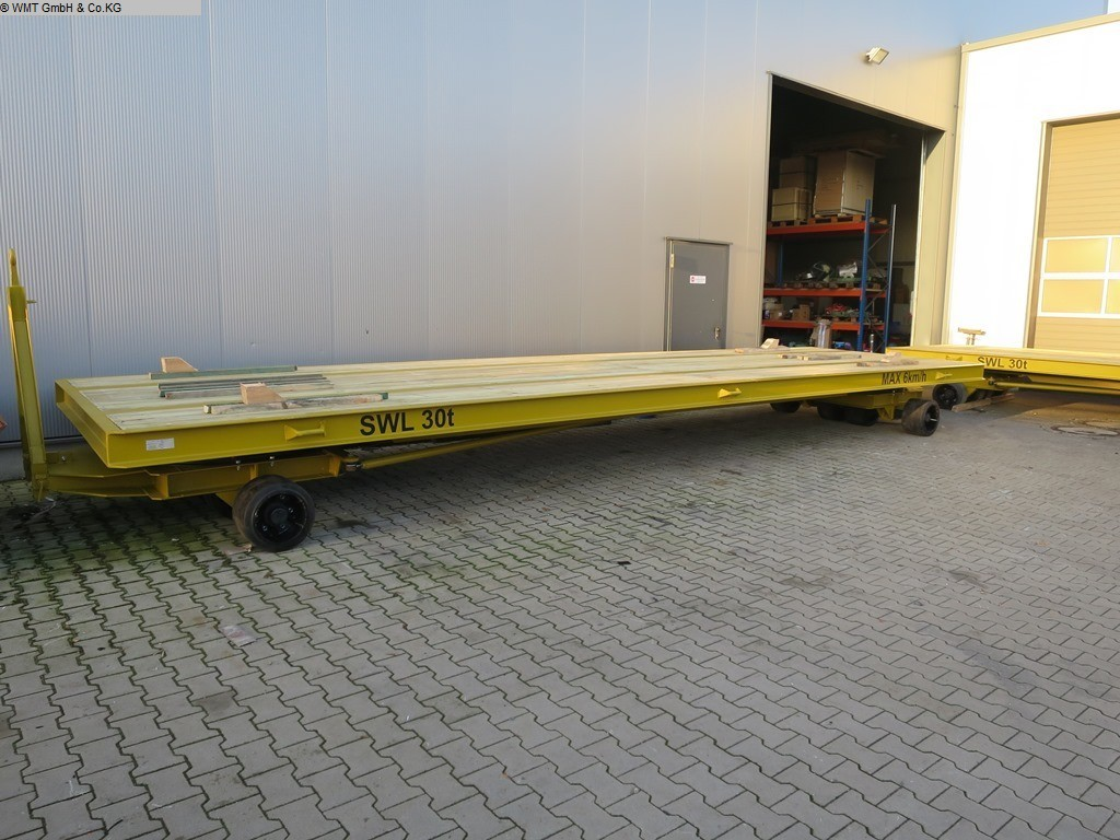 used Conveying and storage technology Heavy-duty trailers WMT D50/12,0 x 3,0
