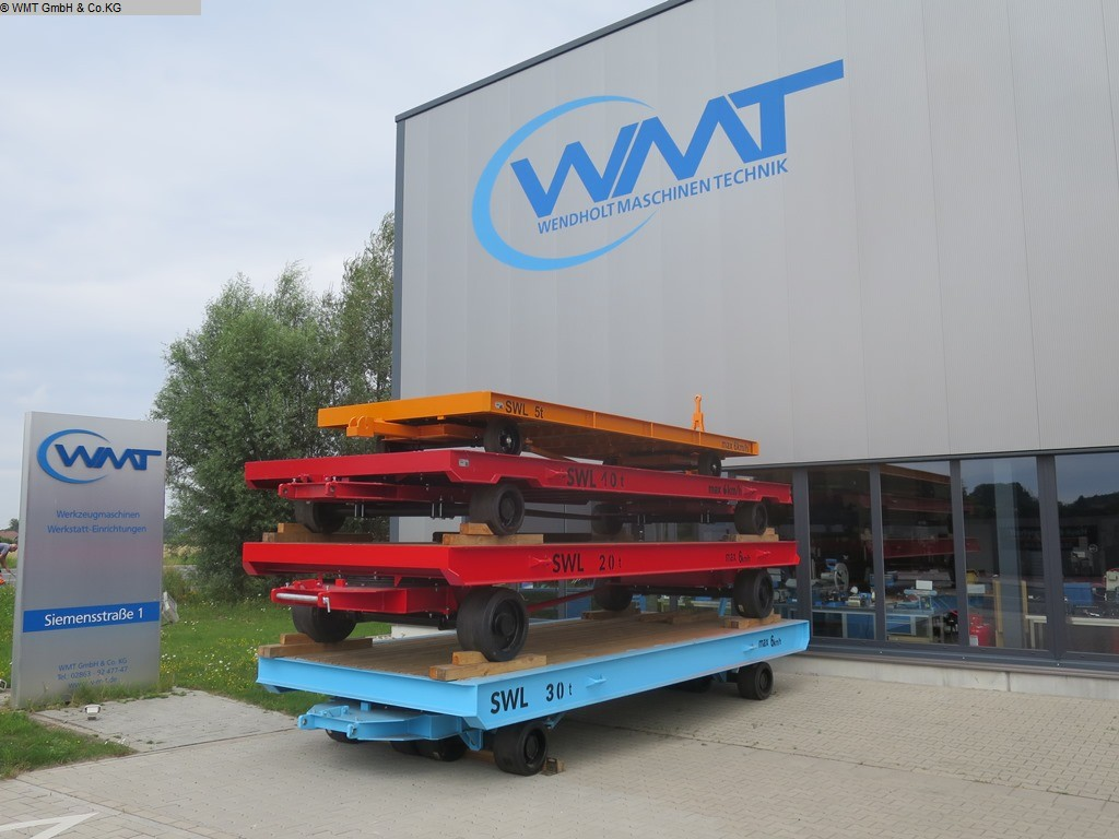used Conveying and storage technology Heavy-duty trailers WMT A150/12,0 x 5,0