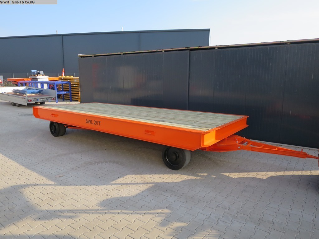 used Other attachments Heavy Goods Trailer WMT 6,5 x 2,5 / 30t