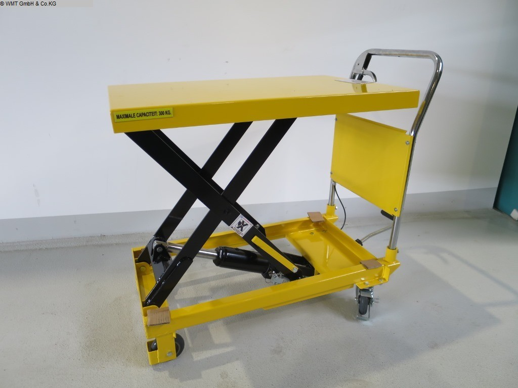 gebrauchte Werkstatteinrichtung / Betriebsausstattung Hubtische HBM HBM 500