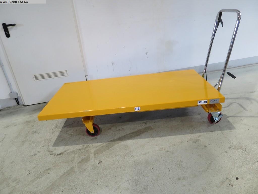 gebrauchte Werkstatteinrichtung / Betriebsausstattung Hubtische HBM HBM 500 gross