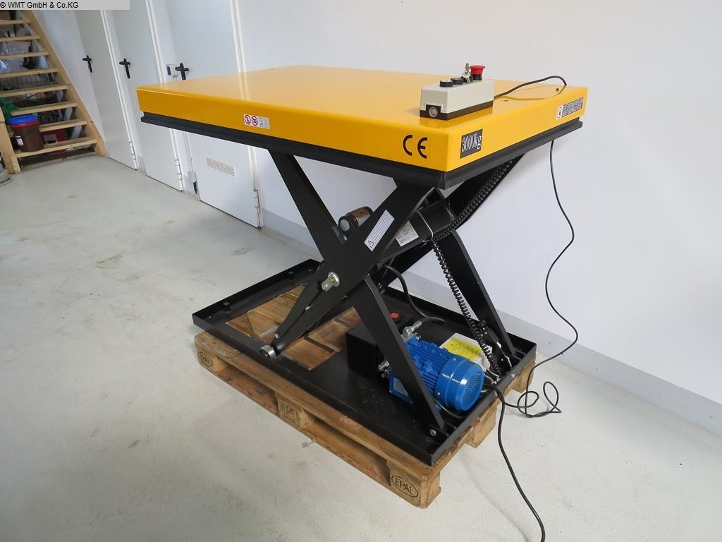 gebrauchte Werkstatteinrichtung / Betriebsausstattung Hubtische UWM UWM 3000
