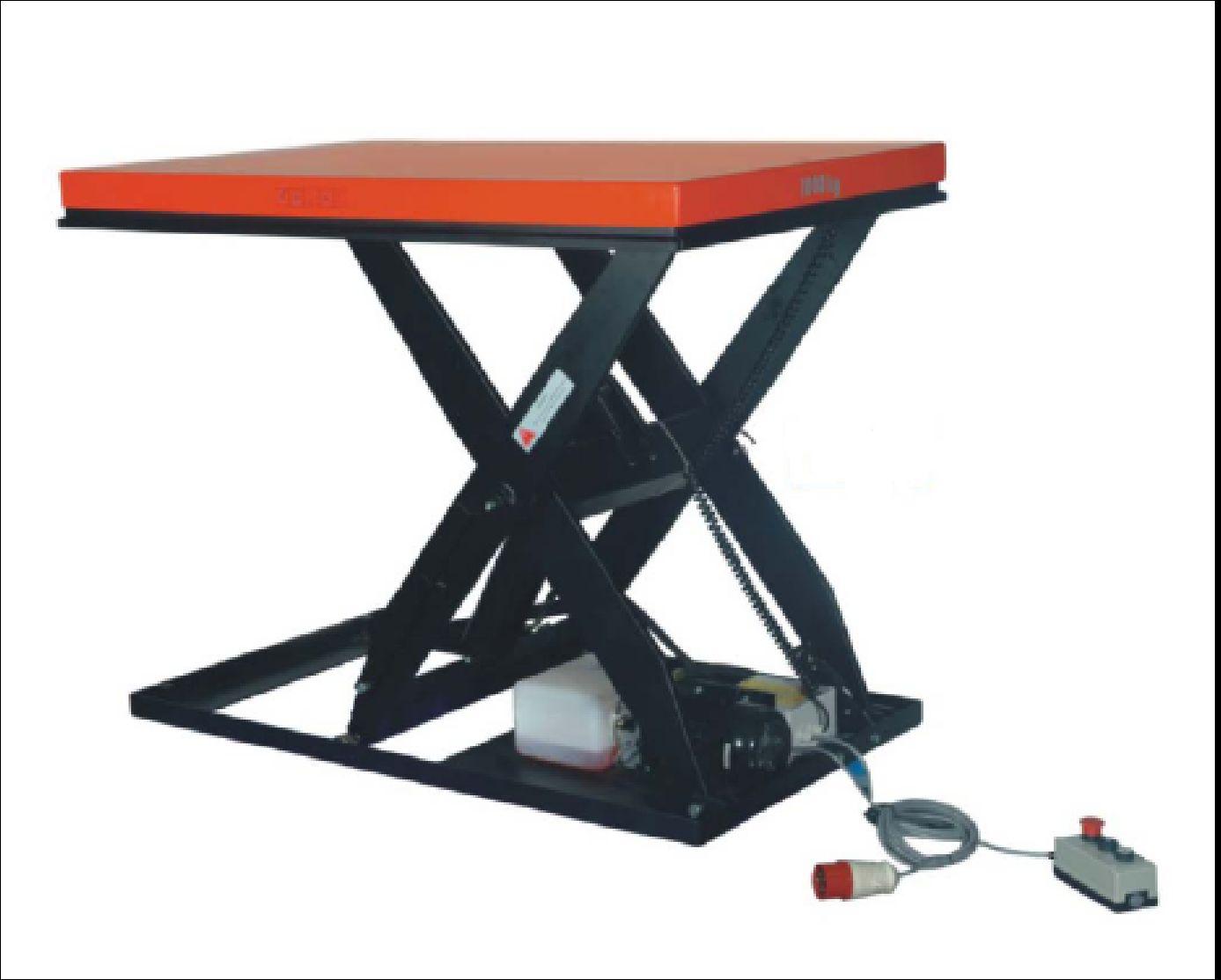 gebrauchte Werkstatteinrichtung / Betriebsausstattung Hubtische UWM UWM 1000