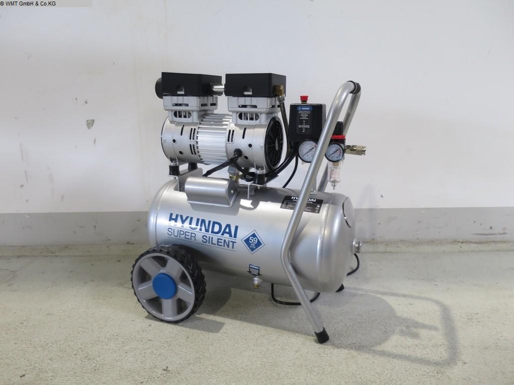 gebrauchte Werkstatteinrichtung / Betriebsausstattung Kompressoren HYUNDAI Super Silent 24