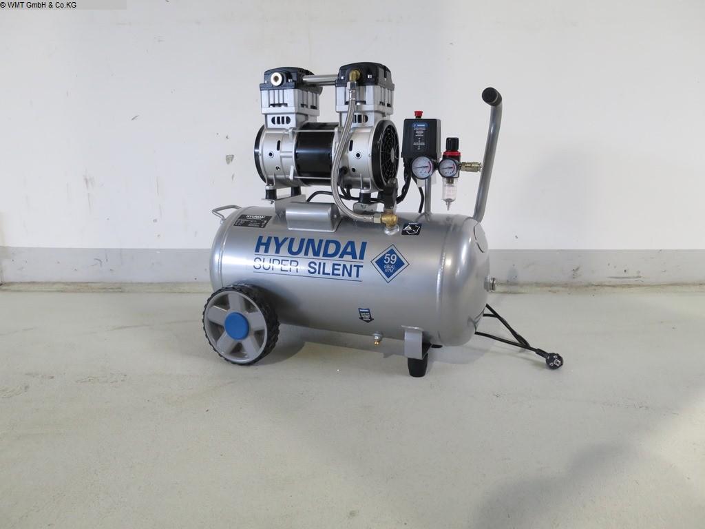gebrauchte Werkstatteinrichtung / Betriebsausstattung Kompressoren HYUNDAI Super Silent 50