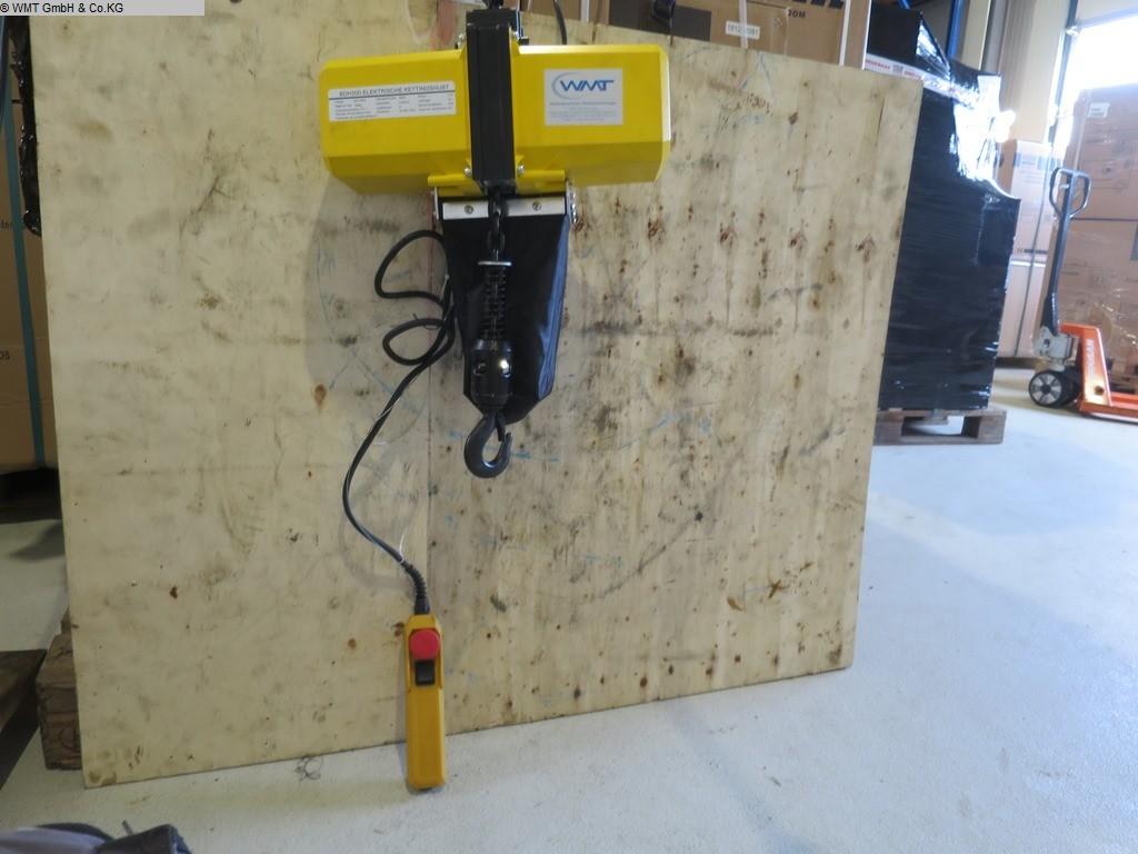 gebrauchte verschiedene Einrichtungen Krananlagen HBM Kettenzug BDH 500