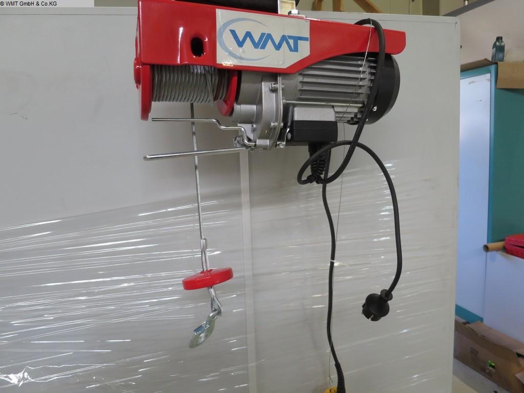 gebrauchte verschiedene Einrichtungen Krananlagen HBM Elektrozug HBM 800