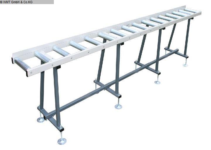 gebrauchte Sägen Rollenbahnen / Anschlag-Systeme WMT R 4000