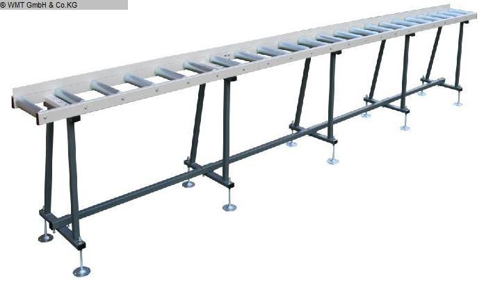 gebrauchte Sägen Rollenbahnen / Anschlag-Systeme WMT R 6000