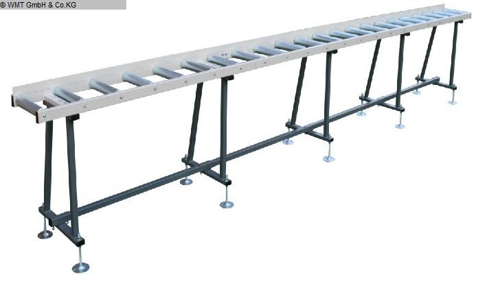 Sierras de rodillos usados / sistemas de parada WMT R 6000