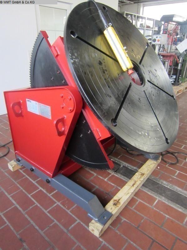 used Rotary Welding Table DUMETA D-TLP-0200