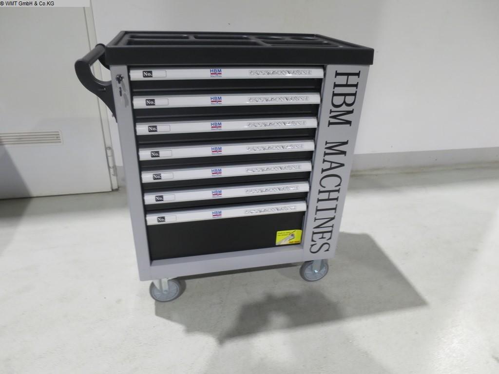gebrauchte Werkstatteinrichtung / Betriebsausstattung Werkzeugwagen HBM HBM 07 sw