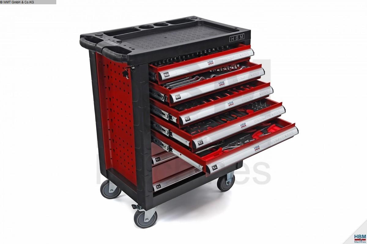gebrauchte Werkstatteinrichtung / Betriebsausstattung Werkzeugwagen HBM HBM 196 r