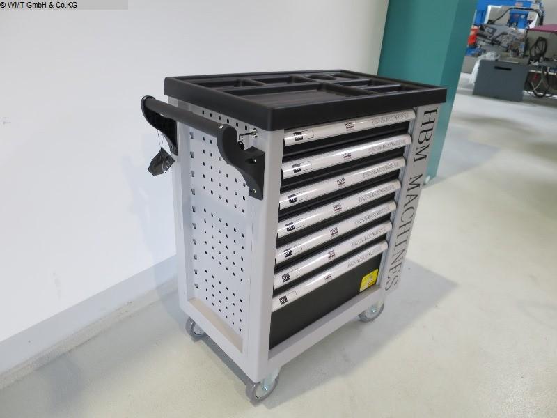 gebrauchte Werkstatteinrichtung / Betriebsausstattung Werkzeugwagen HBM HBM 245 SW