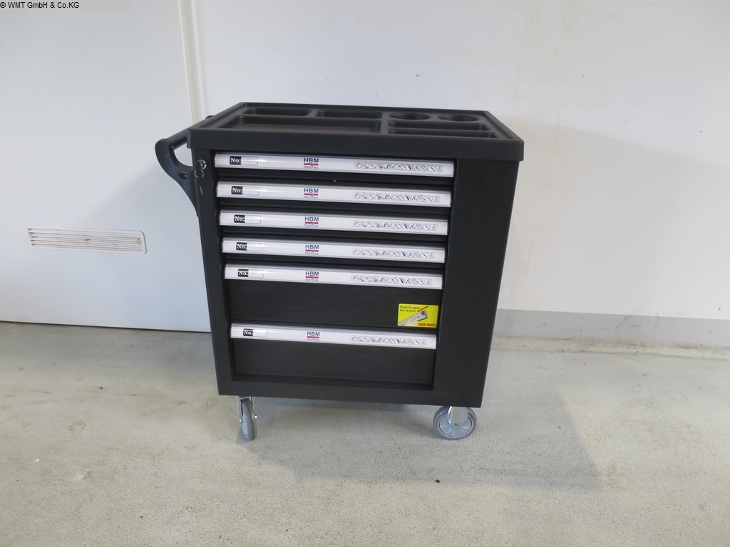 gebrauchte Werkstatteinrichtung / Betriebsausstattung Werkzeugwagen HBM HBM 154