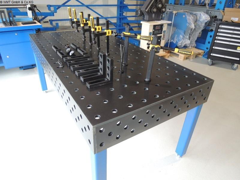 gebrauchte Schweißtisch WMT 1500 x 1500 nitri