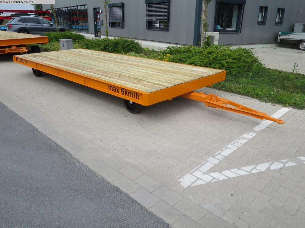 gebrauchte Förder- und Lagertechnik Schwerlastanhänger WMT D05/5,0 x 2,0