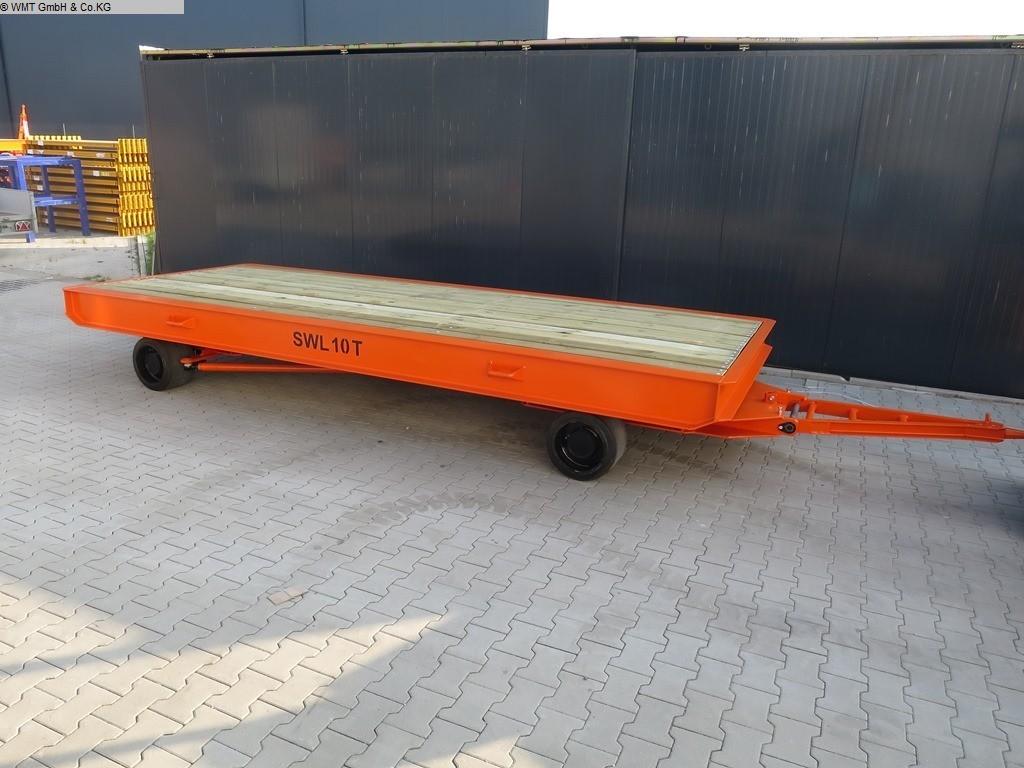 gebrauchte Förder- und Lagertechnik Schwerlastanhänger WMT D10/5,0 x 2,0