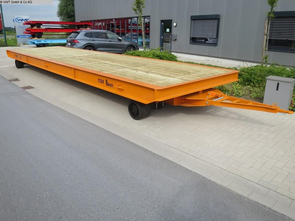 gebrauchte Förder- und Lagertechnik Schwerlastanhänger WMT D15/10,0 x 2,5
