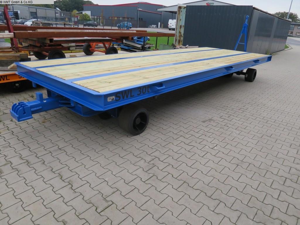 gebrauchte Förder- und Lagertechnik Schwerlastanhänger WMT D30/7,0 x 2,5